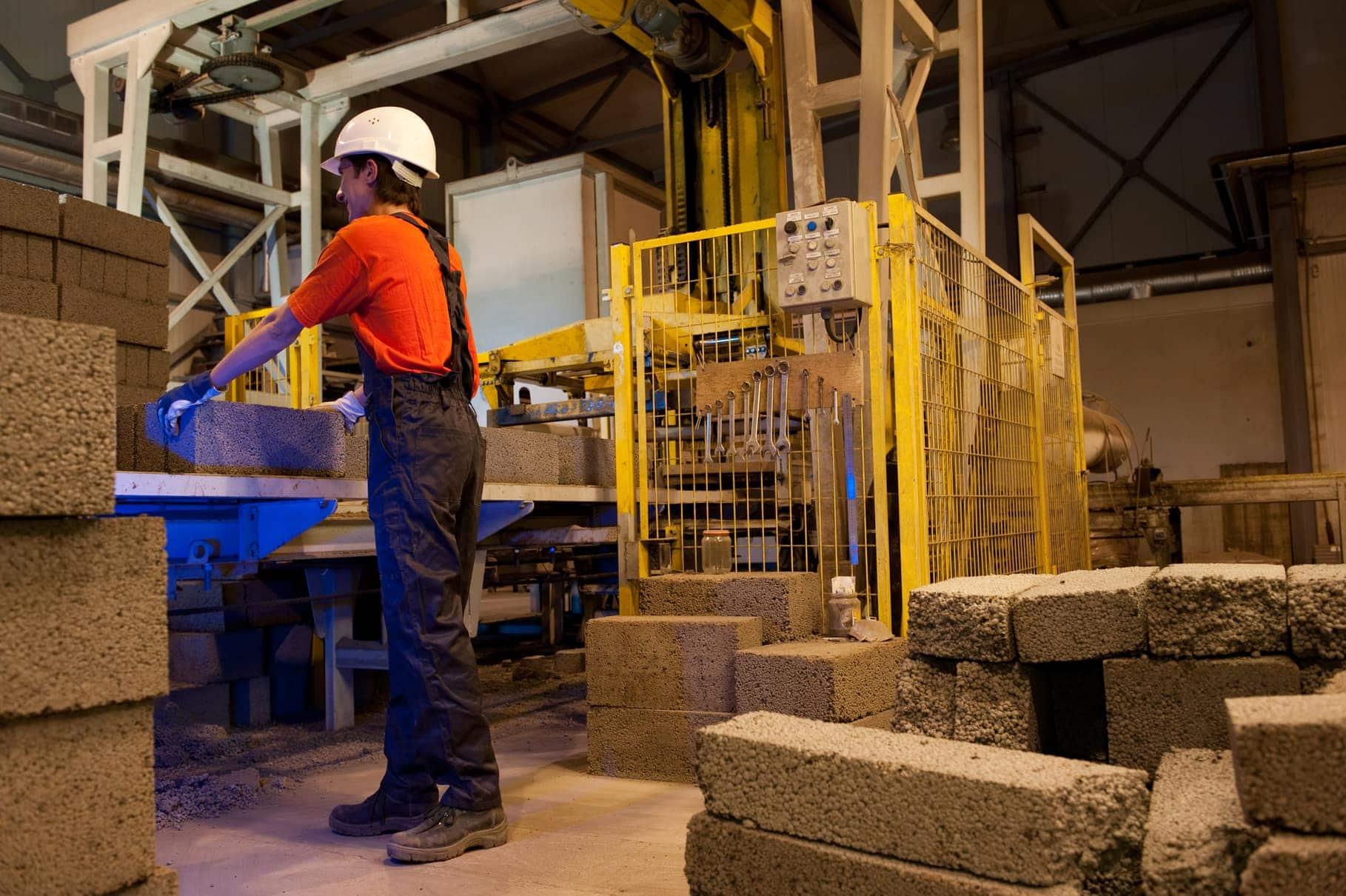 Технология производства керамизитобетонных блоков
